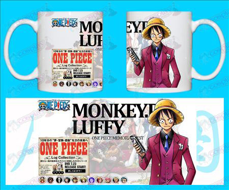 H-One Piece Accessori Tazze Monkey-D