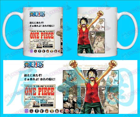 H-One Piece Accessori Tazze LUFFY