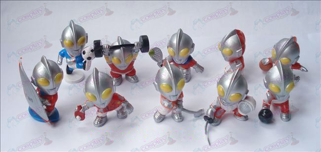 10 Superman Ultraman Accessori Doll