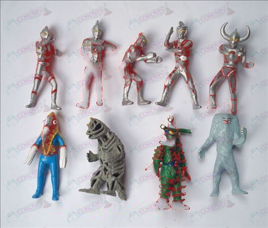 9 Superman Ultraman Accessori Doll
