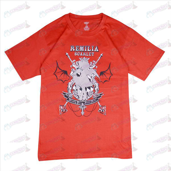 Oriental t-shirt (rosso)