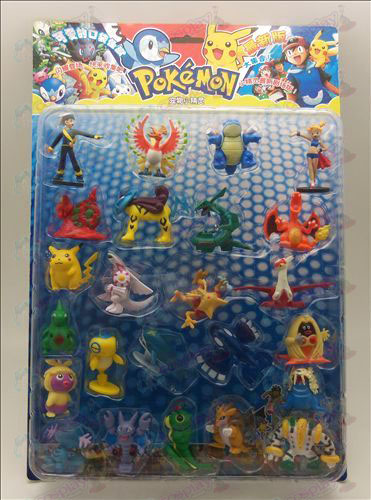 24, Pokemon Accessori (Blister 3)