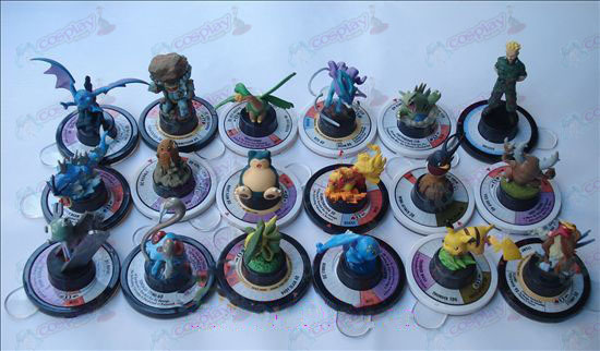 Genuine 18 modelli Pokemon Accessori (6cm)