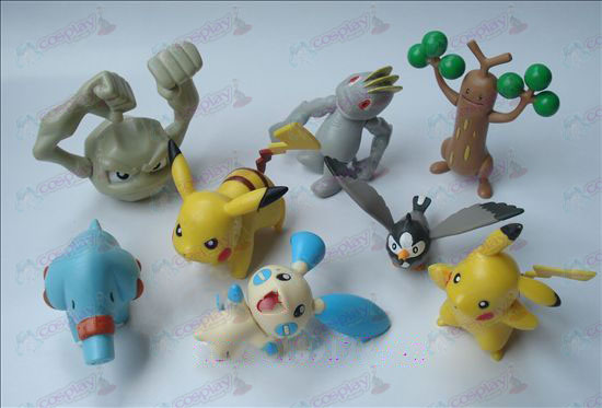 Genuine otto Pokemon Accessori Doll (7-9cm)