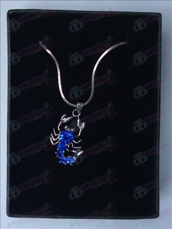 Saint Seiya Accessori Scorpion collana (blu)
