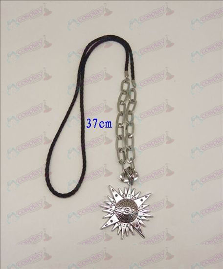 DD.Gray-man accessori logo punk lunga collana (argento)