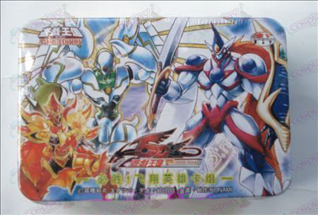 Tin Genuine Yu-Gi-Oh! Accessori Card (carta di gruppo win! volante eroe)
