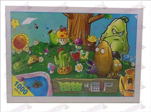 Plants vs Zombies Accessori Puzzle (1379)