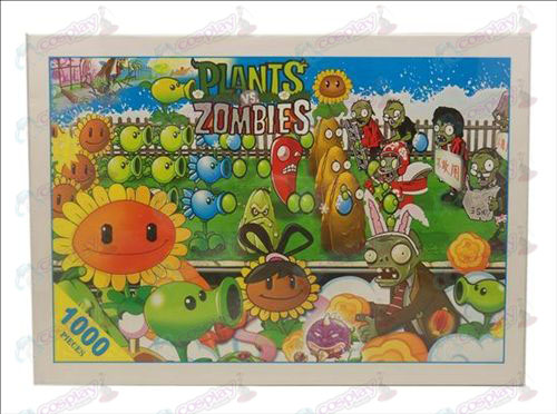 Plants vs Zombies Accessori di puzzle 1380