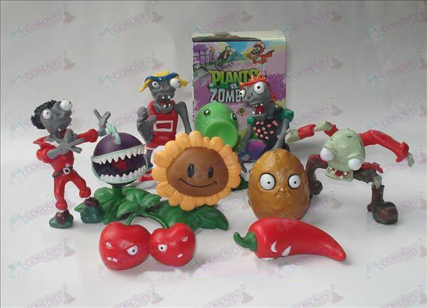 10 Plants vs Zombies Accessori Doll (in scatola)