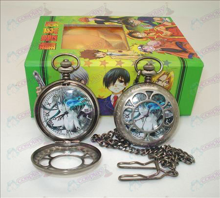 + Carte mancanza Rock Shooter Accessori cava orologio da tasca