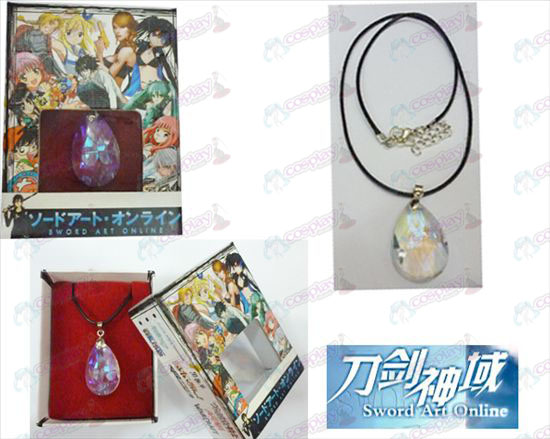 Spada Online Art Accessori Yui Bianco Crystal Heart Necklace Box