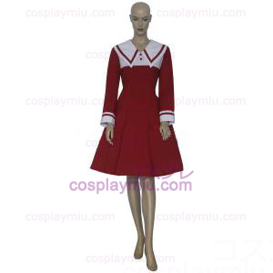 Chobits Chii Red Dress Cosplay