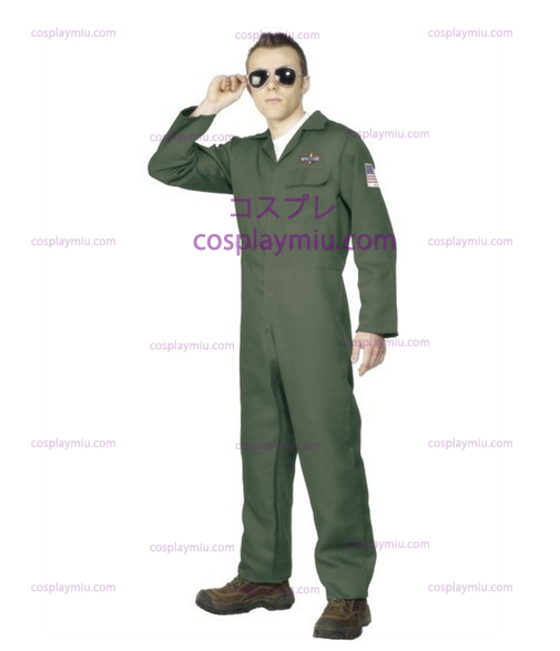 Mens adulti Aviator Topgun Pilot Costumi