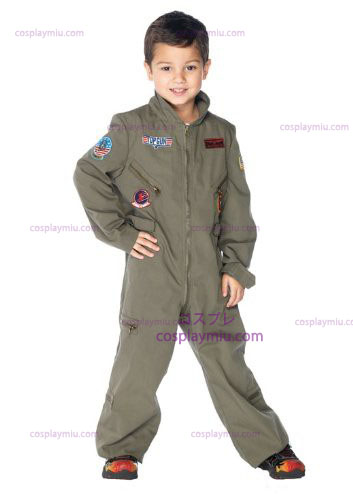 Top Gun Flight Suit bambini Costumi
