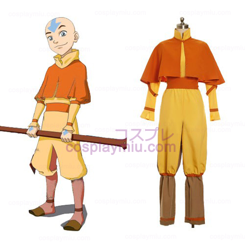 Avatar The Last Airbender Aang Cosplay Costumi