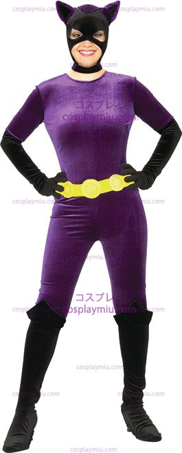 Adult Deluxe sexy Catwoman Costumi
