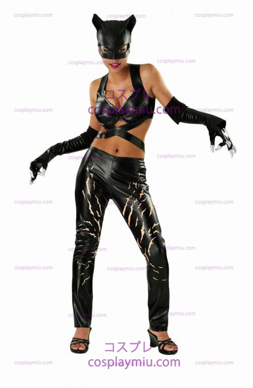 Adult Deluxe Catwoman Costumi