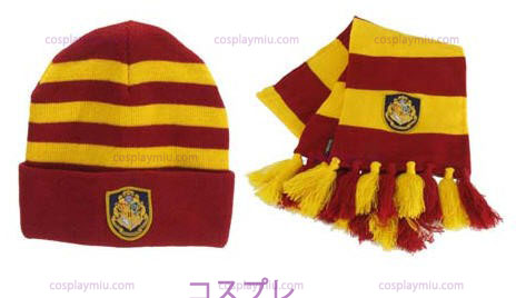 Cappello di lana di Harry Potter Hogwart E Sciarpa Set