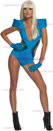 Lady Gaga Blu Swimsuit Xs