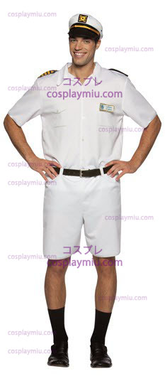 Love Boat Captain Stubing Costumi Adulto