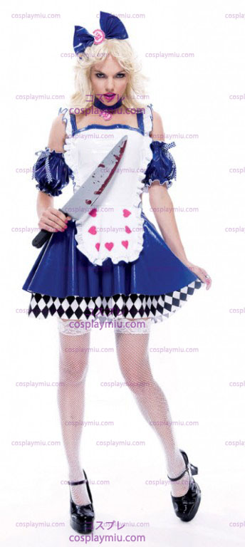 Wicked Alice Adult Costumi