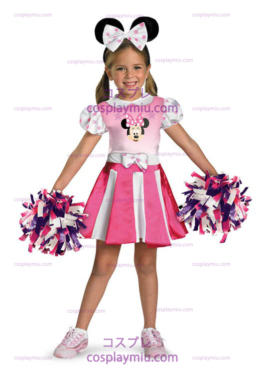 Minnie Mouse Toddler Cheerleader e Costumi Bambino