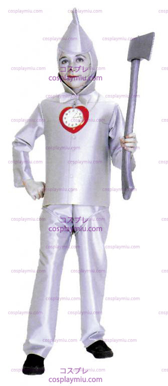 Mago Di Oz Tin Man Child Costumi