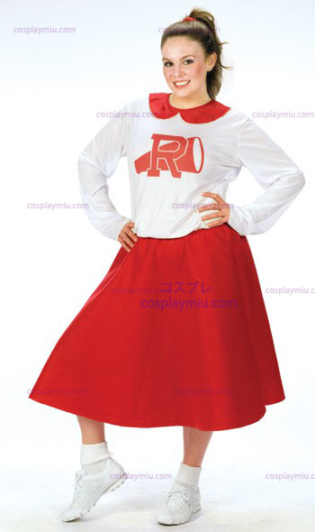 Grease Rydell Cheerleader Plus Size Costumi