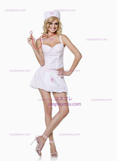 Segreta Bianco Wishes Nurse Plus Size Costumi
