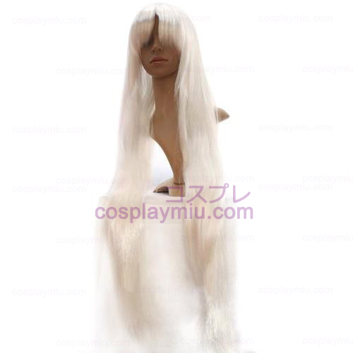 Argento Inuyasha Cosplay Parrucca Bianca