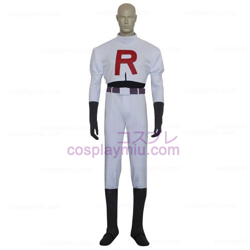 Pokemon Team Rocket James uomini Costumi cosplay