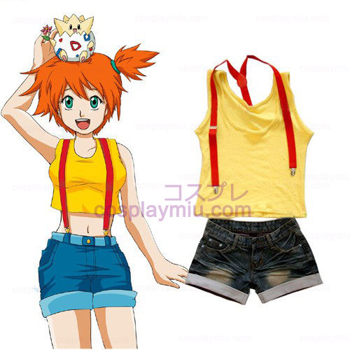 Cosplay Pokemon Misty femminile