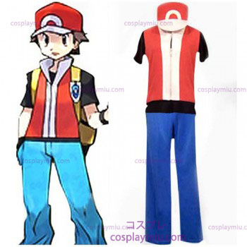 Cosplay Pokemon Ash Ketchum Uomo