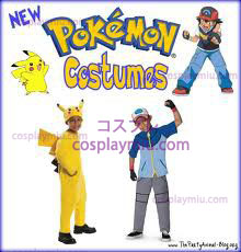 Pokemon - Pikachu Child Costumi