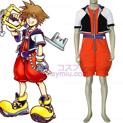 Kingdom Hearts Cosplay 1 Sora Uomo