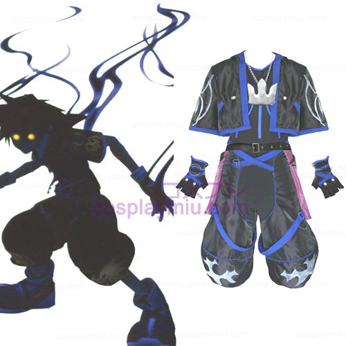 Kingdom Hearts 2 Anti Sora uomini Costumi cosplay