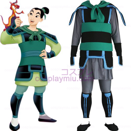 Kingdom Hearts 2 Mulan uomini Costumi cosplay