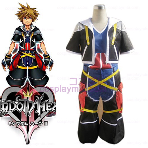 Kingdom Hearts Cosplay 2 Sora Uomo