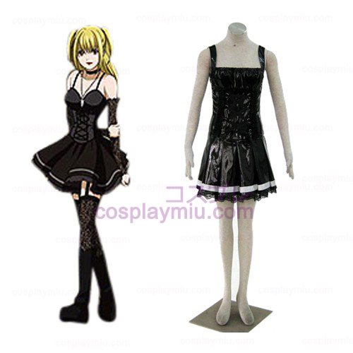 Death Note Misa Amane nero Cosplay