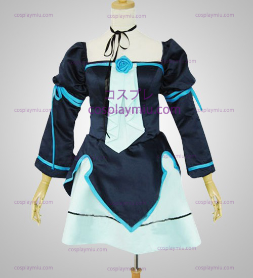 Vocaloid Miku Doujin Light Blue Cosplay