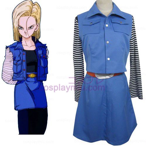 Dragon Ball Android 18 Costumi cosplay