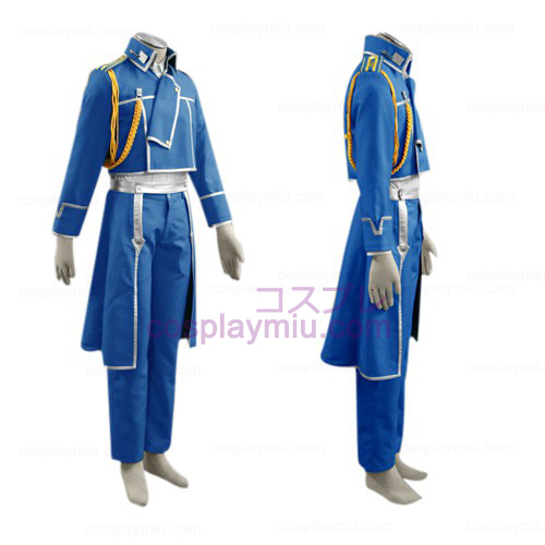 FullMetal Alchemist Roy Mustang Militare Cosplay
